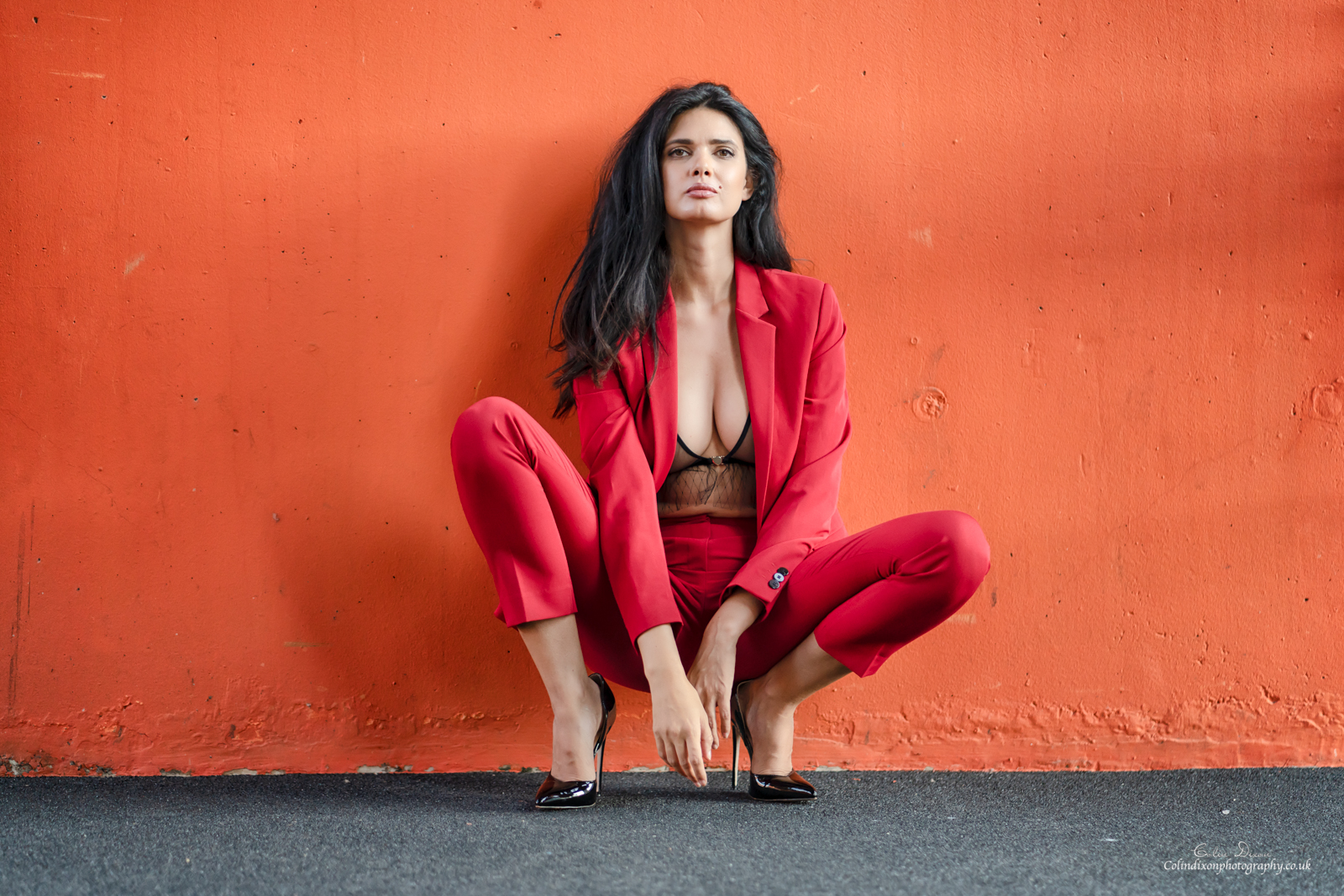 Zoi Morgan Rotterdam-Red Suit 4