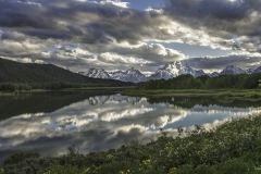 The Tetons Oxbow Bend