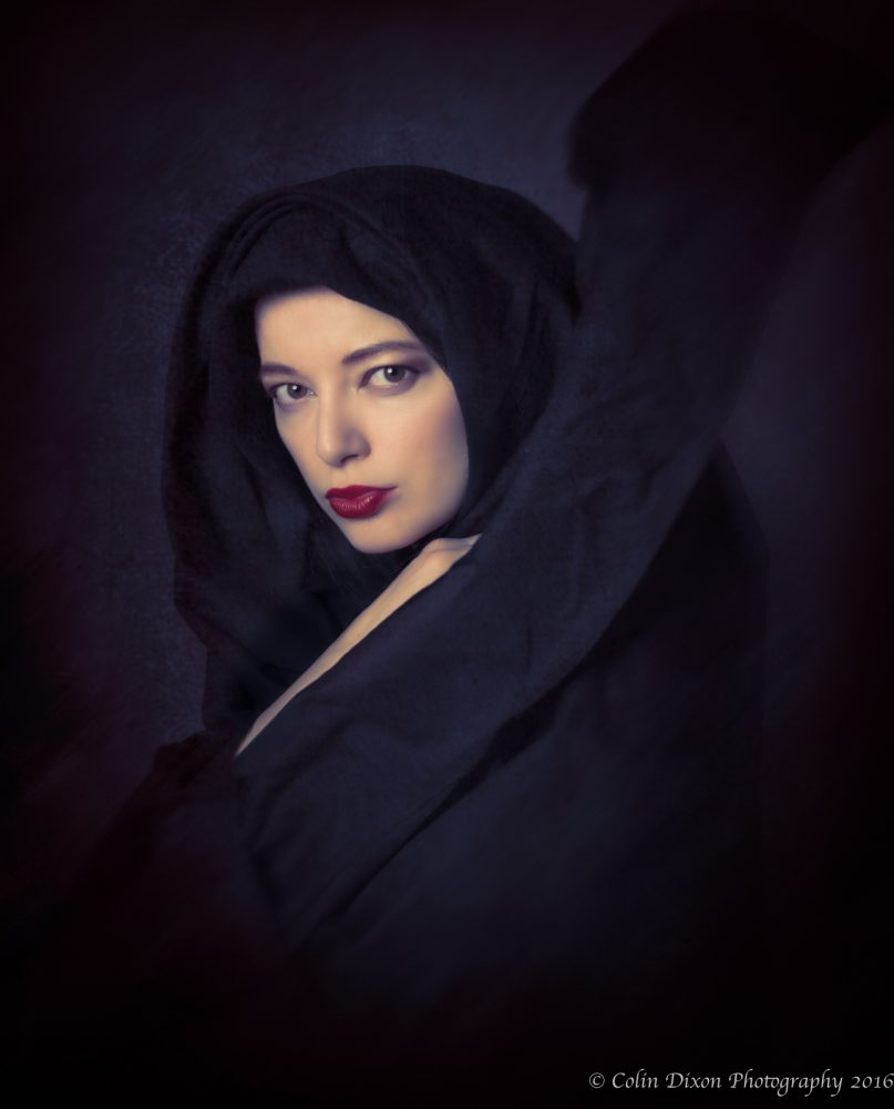 The Cloaked Lady